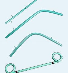 Biliary drainage stent (plastic)