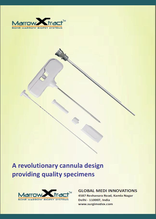 T-Handle Bone Marrow Biopsy Needle with extraction cannula by MarrowXtract