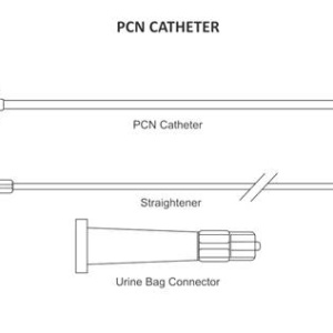 Pigtail Drainage PCN Catheter Without Needle