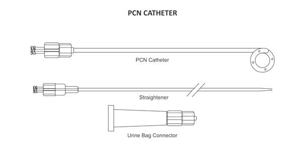 percutaneous nephrostomy (pcn) catheters india