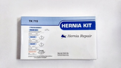 BUY TRULENE Hernia Kit (TK 715) BY SUTURES INDIA ONLINE
