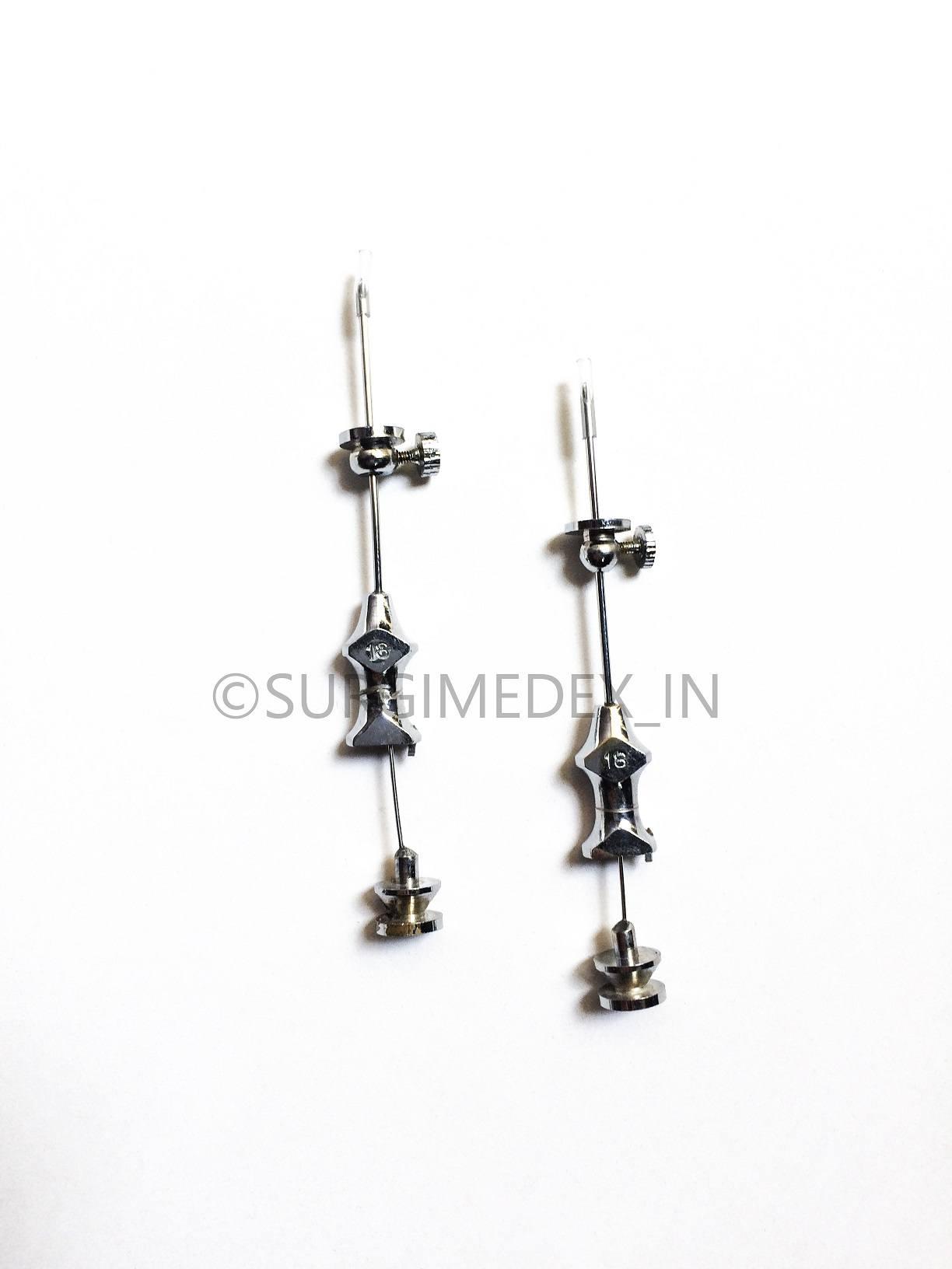 Bone Marrow Aspiration Needle (Metal, Salah type) – 14, 16, 18G, 5 Cm long