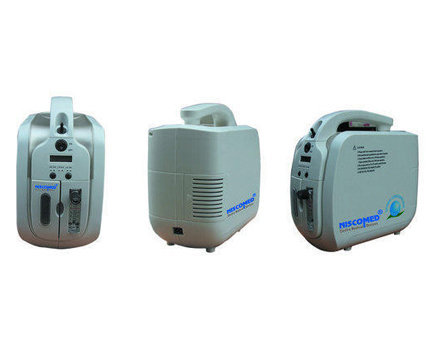 Niscomed Portable Oxygen Concentrator with Battery Backup