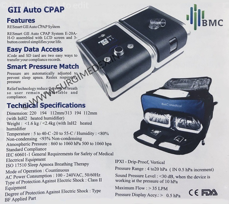 automatic cpap machine price in india