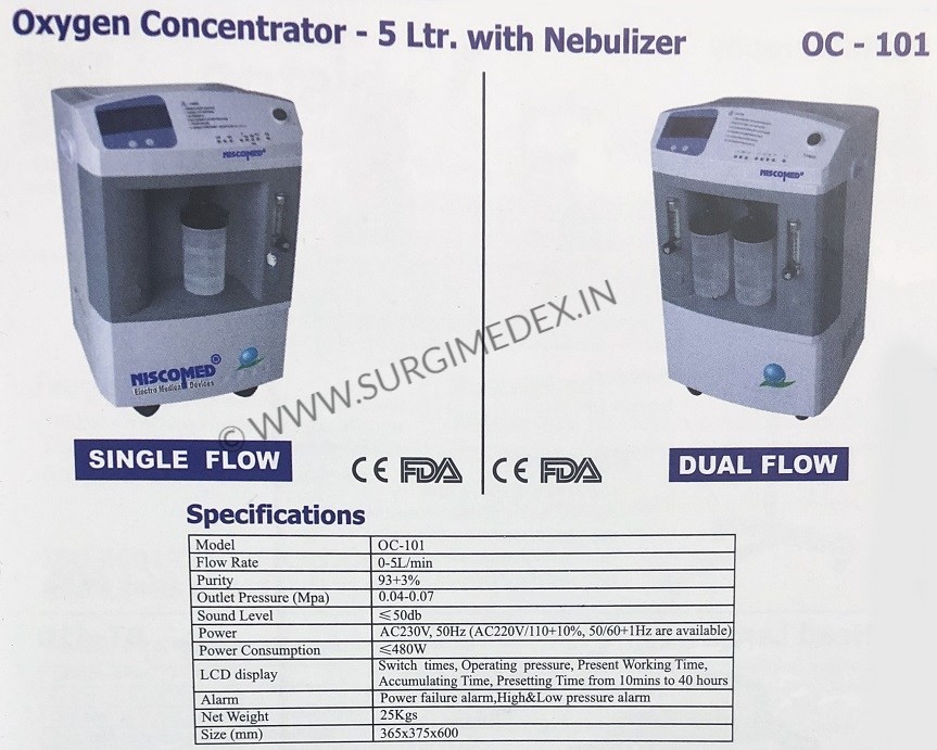 oxygen concentrator price online india