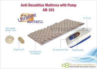 Anti Decubitus Air Mattress with Pump for Hospital and Home Use – AB-101