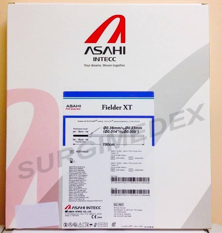 FIELDER XT PTCA GUIDE WIRE AGP140002 0.014in * 190Cm