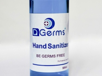 HAND SANITIZER 70% ALCOHOL