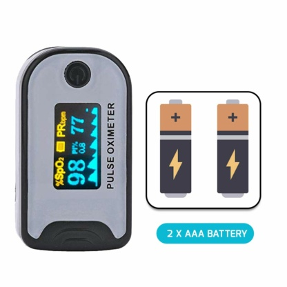 pulse oximeter india batteries