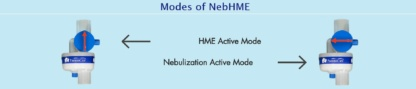 nebhme filter with delivery conduit